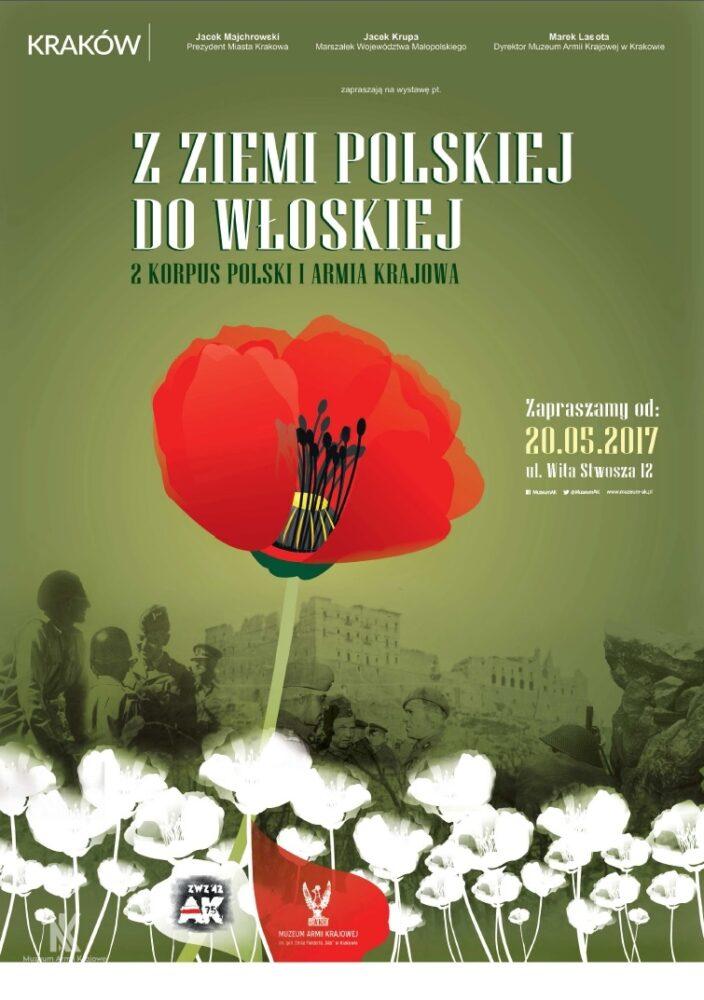 """""""Z ziemi polskiej do włoskiej. 2 Korpus Polski i Armia Krajowa"""""""