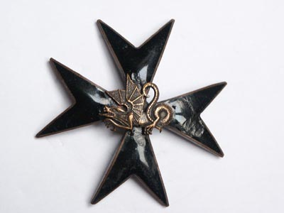 Odznaka 10 Batalionu Pancernego z Łodzi