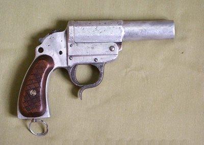 Pistolet sygnałowy LP-38 Walter mit kurzem Lauf