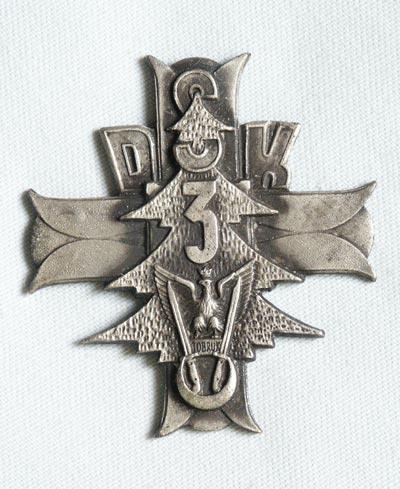 Odznaka pamiątkowa 3 Dywizji Strzelców Karpackich