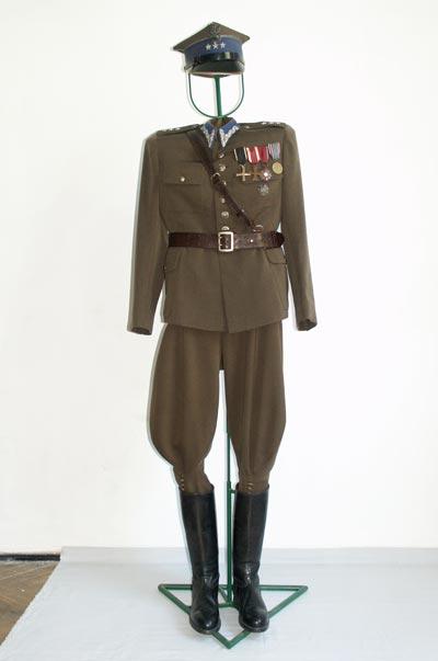 Mundur kapitana służb intendentury, II RP, lata 30