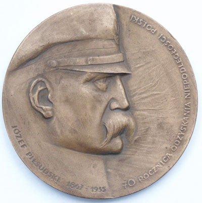 Medal pamiątkowy – 70 rocznica odzyskania niepodległości
