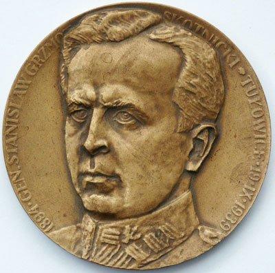 Medal pamiątkowy – gen. Stanisław Grzmot-Skotnicki