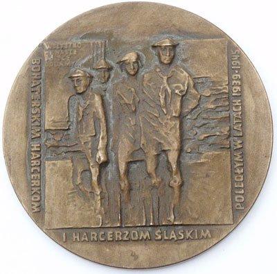 """Medal pamiątkowy – """"Harcerzom śląskim 1939 -1945"""""""