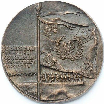 """Medal pamiątkowy – """"Żołnierzowi 20 pp Ziemi Krakowskiej"""""""