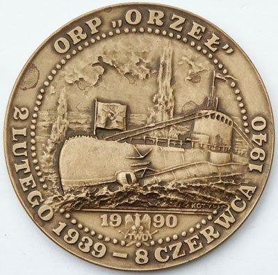 Medal pamiątkowy – ORP Orzeł