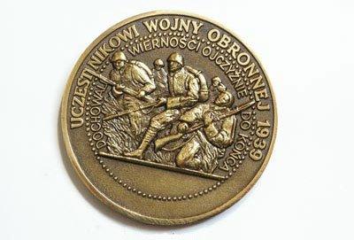 Medal Uczestnikowi Wojny Obronnej 1939