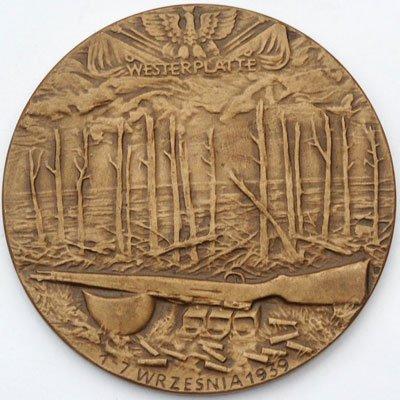 Medal pamiątkowy – Westerplatte