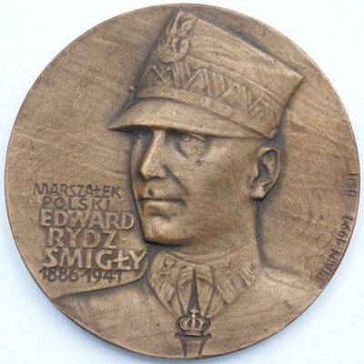 Medal pamiątkowy – Marszałek Polski Edward Rydz-Śmigły