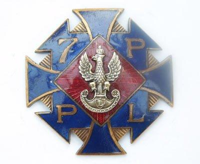 Odznaka pamiątkowa 7 Pułku Piechoty Legionów z Chełma