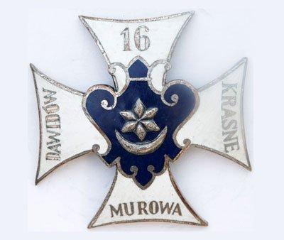 Odznaka pamiątkowa 16 Pułku Piechoty z Tarnowa
