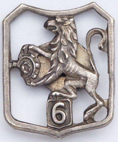 Oznaka 6 Lwowskiej Brygady Strzelców