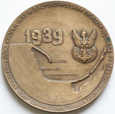 Medal pamiątkowy – Morska Obrona Wybrzeża