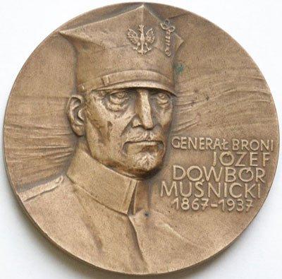 Medal pamiątkowy – generał Józef Dowbór-Muśnicki