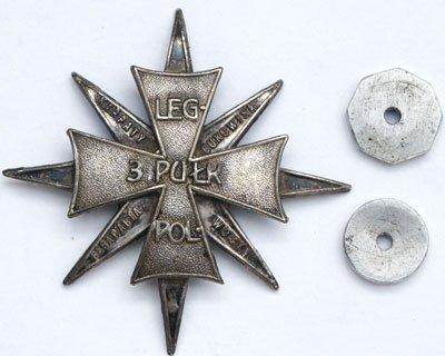 Odznaka pamiątkowa 3 Pułku Piechoty z Jarosławia