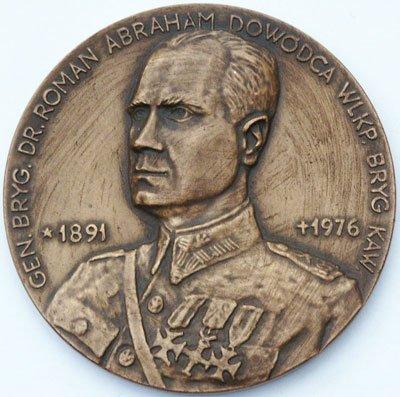 Medal pamiątkowy – gen. Roman Abraham