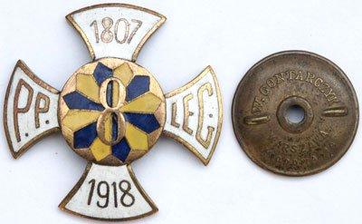 Odznaka pamiątkowa 8 Pułku Piechoty Legionów z Lublina