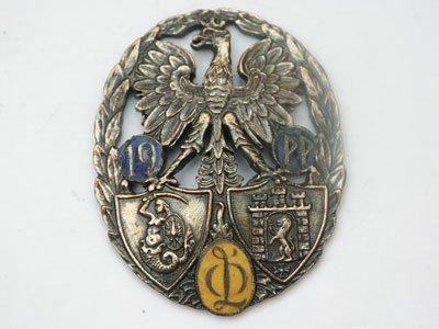 Odznaka pamiątkowa 19 Pułku Piechoty ze Lwowa