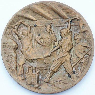 Medal pamiątkowy – 120 rocznica pobytu Rządu Narodowego w Kutnie