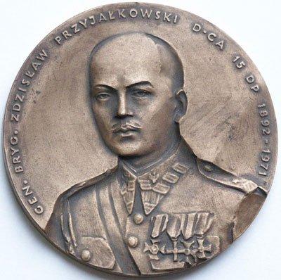 Medal pamiątkowy – gen. Zdzisław Przyjałkowski