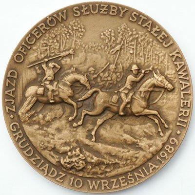 Medal pamiątkowy – Zjazd oficerów służby stałej kawalerii