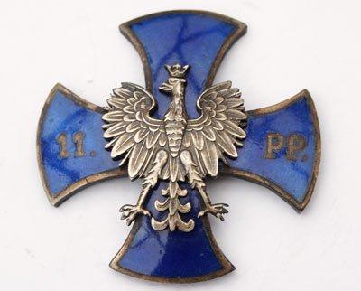 Odznaka pamiątkowa 11 Pułku Piechoty z Tarnowskich Gór