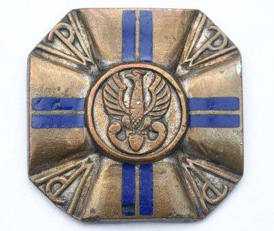 Odznaka instruktorska Przysposobienia Wojskowego II stopnia