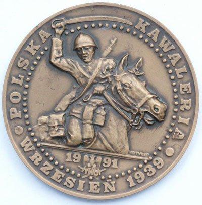 Medal pamiątkowy – Kawaleria Polska