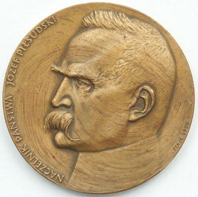 Medal pamiątkowy – Naczelnik Państwa Józef Piłsudski
