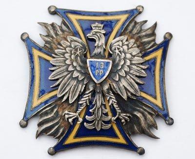 Odznaka pamiątkowa 13 Pułku Piechoty z Pułtuska