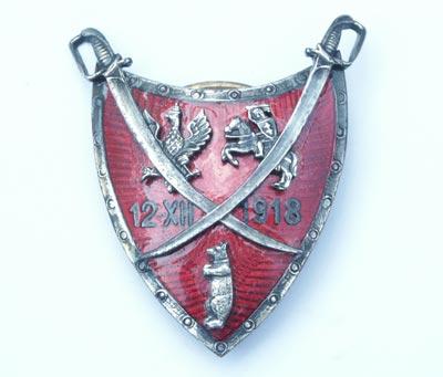 Odznaka pamiątkowa 77 Pułku Piechoty z Lidy