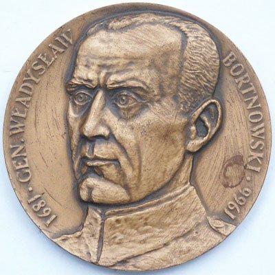 Medal pamiątkowy – gen. Władysław Bortnowski