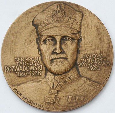 Medal pamiątkowy – generał Tadeusz Rozwadowski