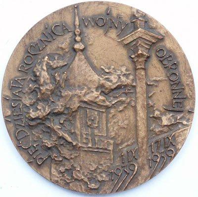 Medal pamiątkowy – 50 rocznica Wojny Obronnej 1939