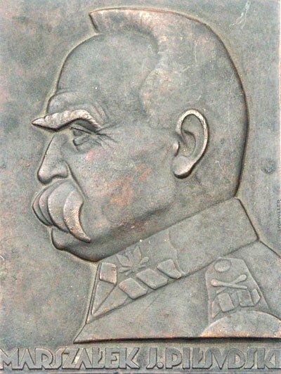 Plakieta pamiątkowa – Marszałek Józef Piłsudski