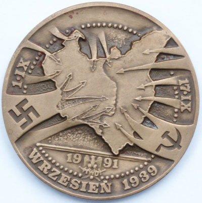 Medal pamiątkowy – Wojna Obronna 1939 roku
