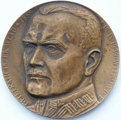 Medal pamiątkowy – gen. Franciszek Wład