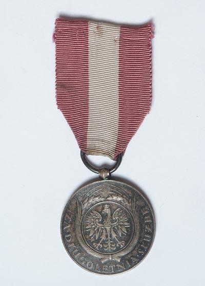 Medal Za Długoletnią Służbę – Srebrny XX Lat