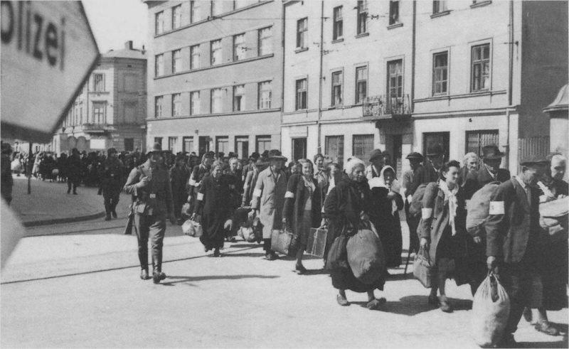 Likwidacja getta w Krakowie