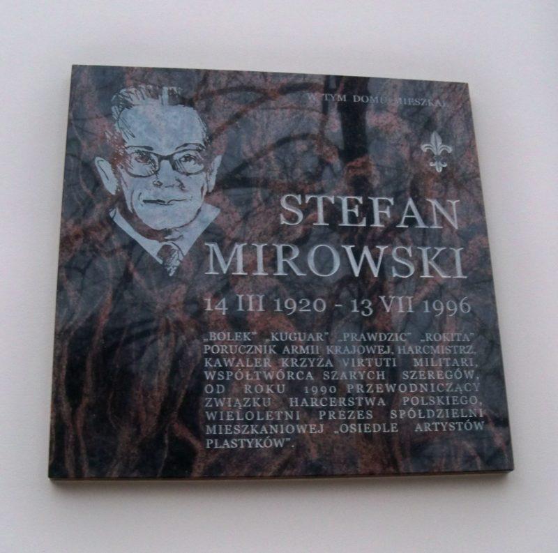 Urodził się Stefan Mirowski ps. Bolek