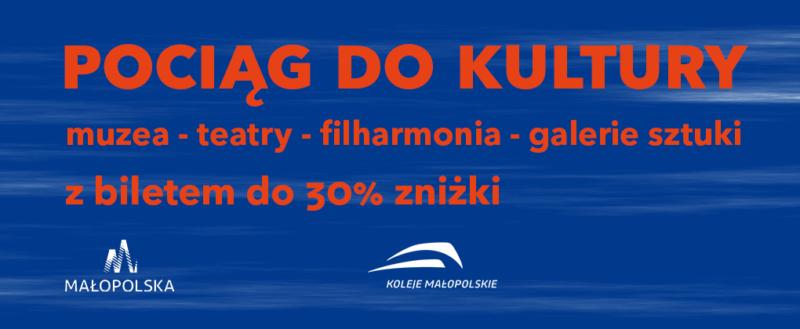 """Muzeum na szlAKu kolejowym – """"Pociąg do kultury"""""""