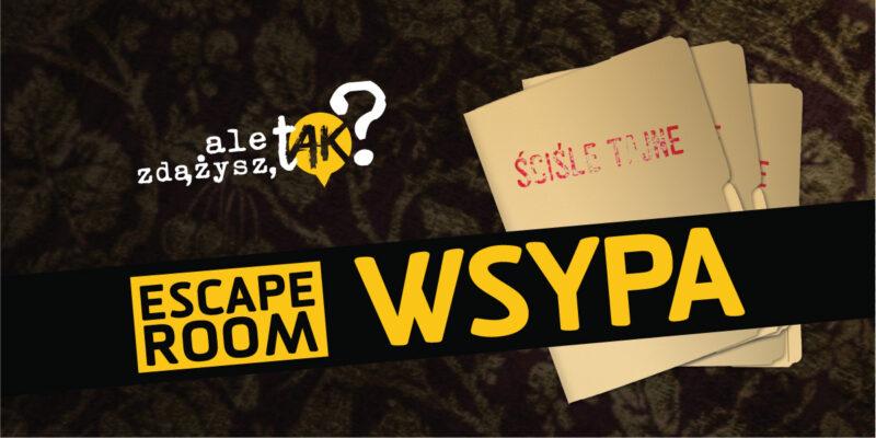"""Escape Room """"Wsypa"""" w stałej ofercie Muzeum AK"""
