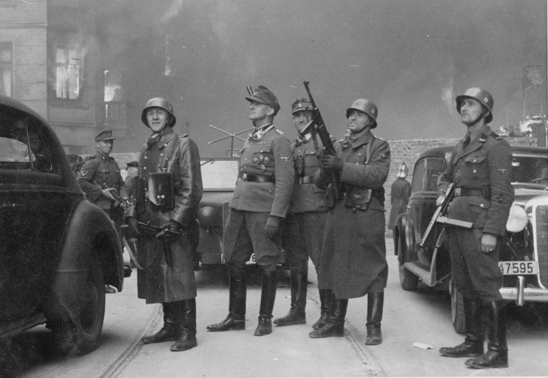 Wybuch powstania w getcie warszawskim