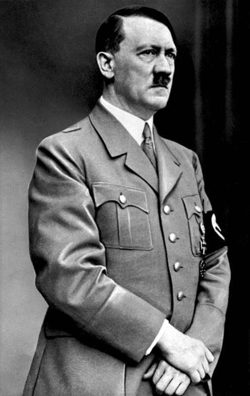 Adolf Hitler popełnił samobójstwo