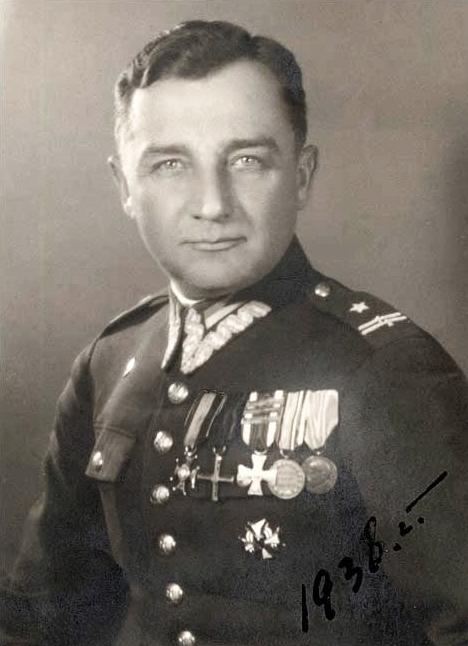 """Urodził się Henryk Dobrzański """"Hubal"""", mjr WP."""