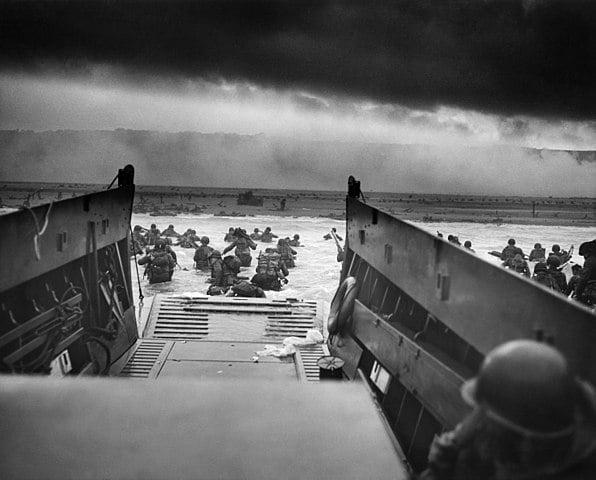 D-day – lądowanie wojsk sprzymierzonych w Normandii