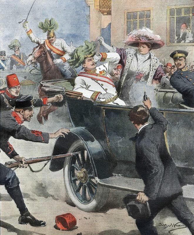 Zamach na arcyksięcia Franciszka Ferdynanda