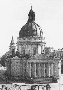 Aresztowania gestapo w kościele św. Aleksandra na pl. Trzech Krzyży