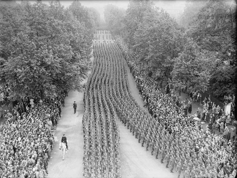 Parada Zwycięstwa w Londynie