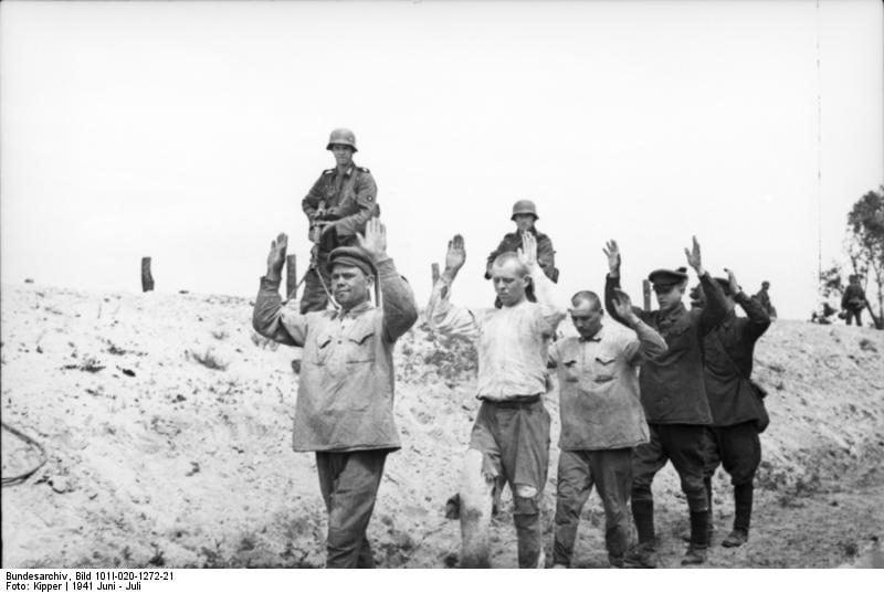"""Operacja """"Barbarossa"""" – początek inwazji Niemiec oraz państw sprzymierzonych na Związek Sowiecki"""